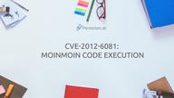CVE-2012-6081: MoinMoin code execution