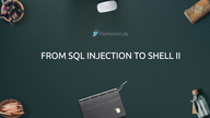 From SQL injection to shell II